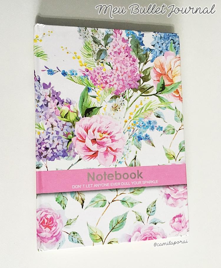 caderno bullet journal