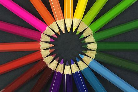 Regularidades en los nombres de colores