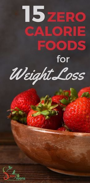15 Zero Calorie Foods For Weight Loss