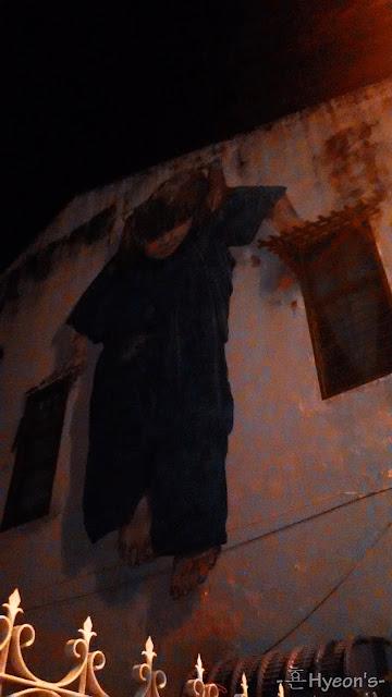 ninja girl penang street art