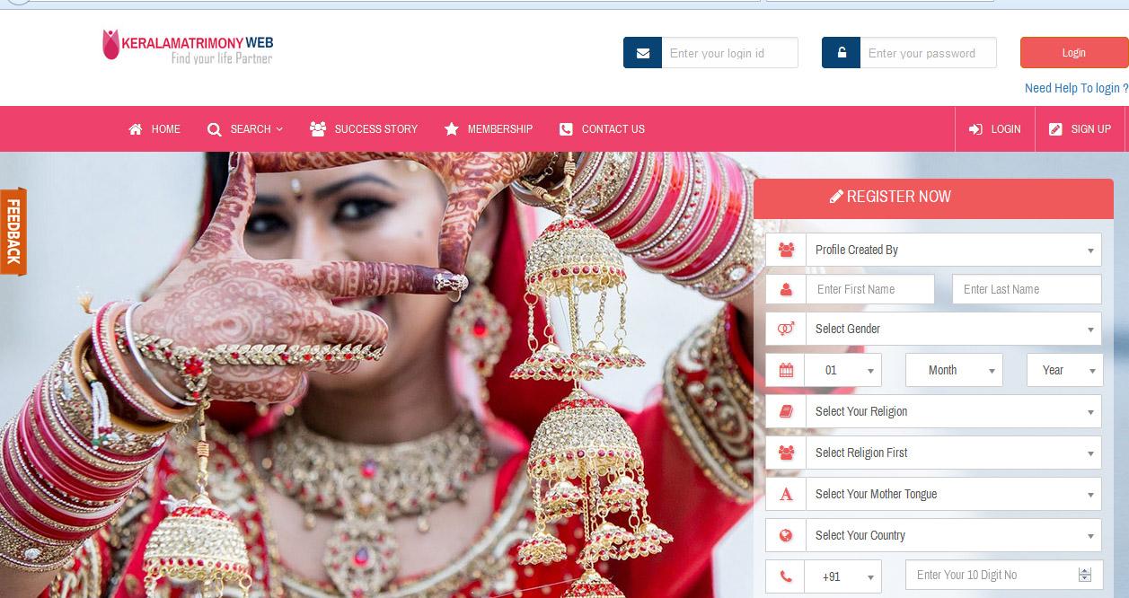 Kerala matrimony profile search