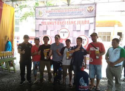 Festival Lomba Kicau Burung di Pemkab Lampung Timur Berjalan Meriah