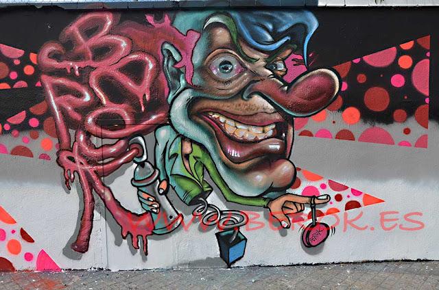 sitios legales para pintar en barcelona