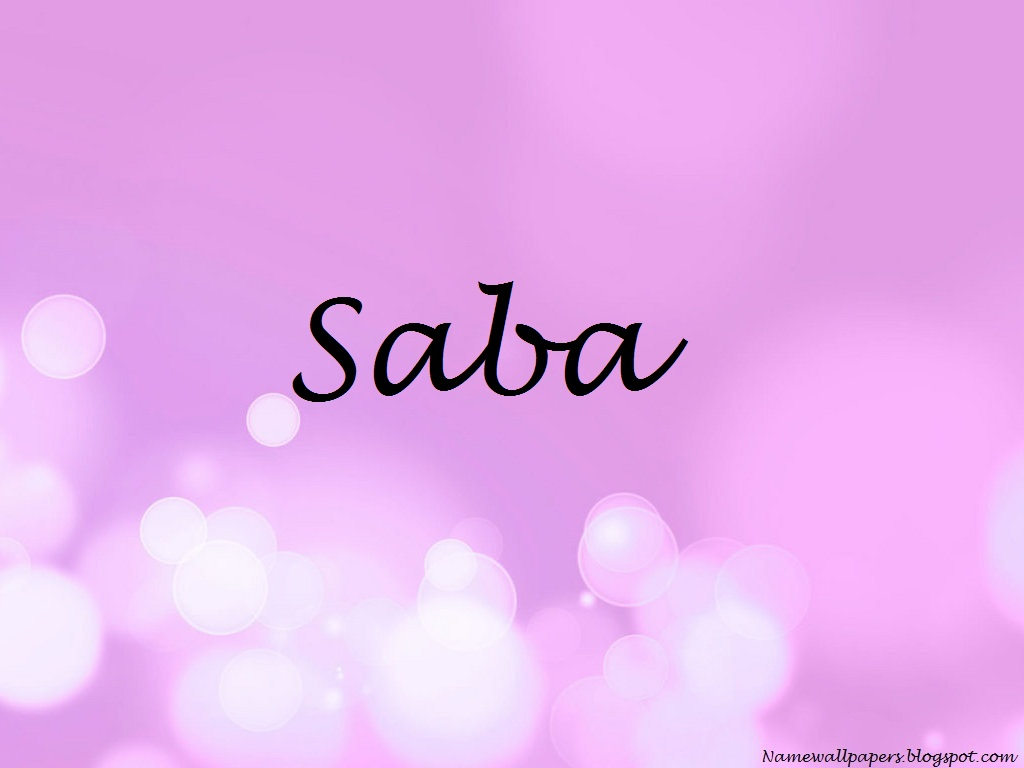 Saba Name Images - Reverse Search
