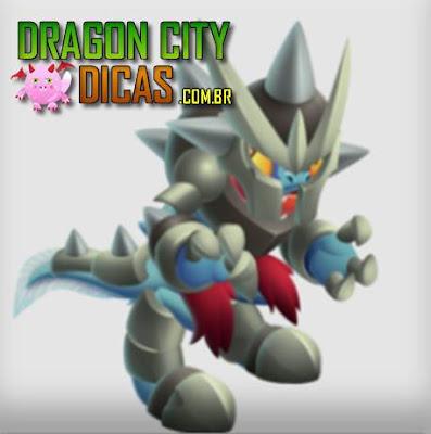 Dragão Escamas de Ferro - Informações