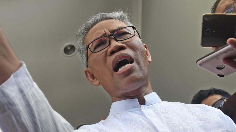 Buni Yani hadiri sidang perdana di PN Bandung