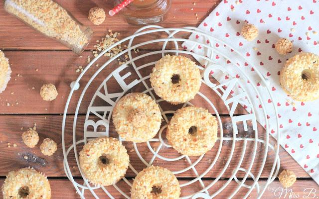 Zum Kaffee: Gefüllte Giotto-Donuts aus dem Backofen
