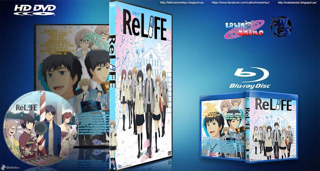 Download Anime Relife Bd 13 Cover Dvd Esp Eng Mkv 720p