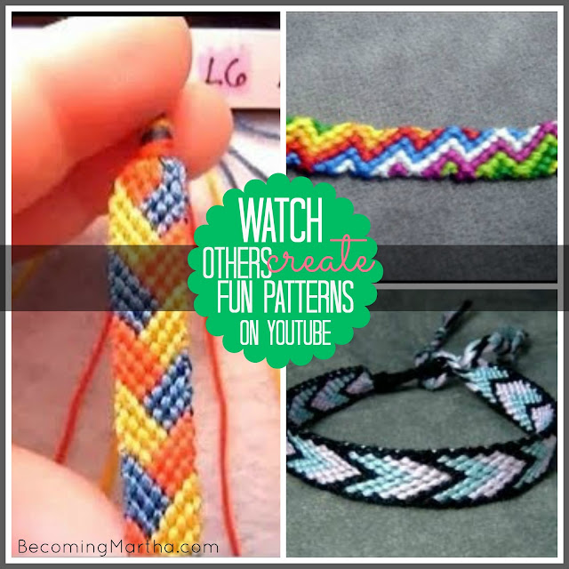 Friendship Bracelet Tutorials