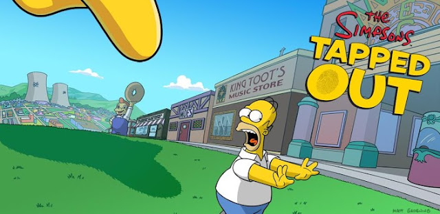 The Simpsons Tapped OUT APK 4.2.4 Mod Unlocked