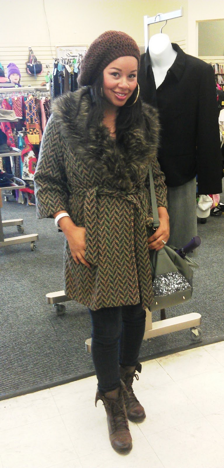 16eb5dd2d3f You guys know about my new found love for thrifting! I participated by  going to a swap at B   R Thrift store hosted by Kerrie of Virtuous Styls  and Keren of ...