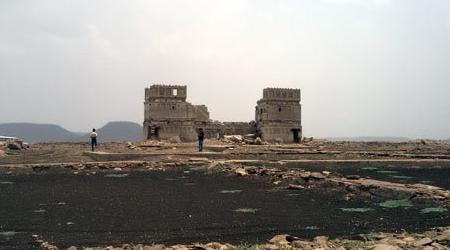 36 साल बाद पानी से बाहर निकला सिंधिया का महल