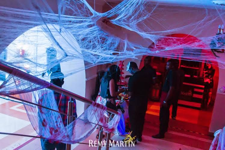 b Pics from all the scary fun at The Club With Remy Halloween edition
