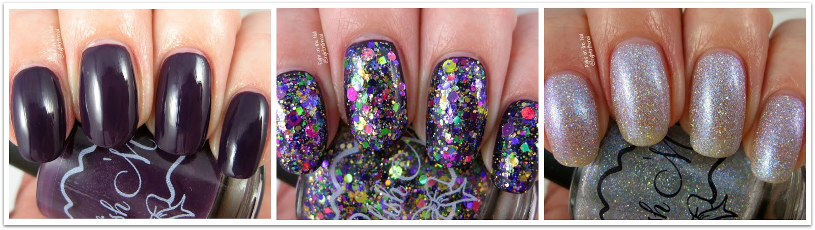 Right on the Nail: Polish \'M Mardi Gras Trio 2017 Swatches and Reviews