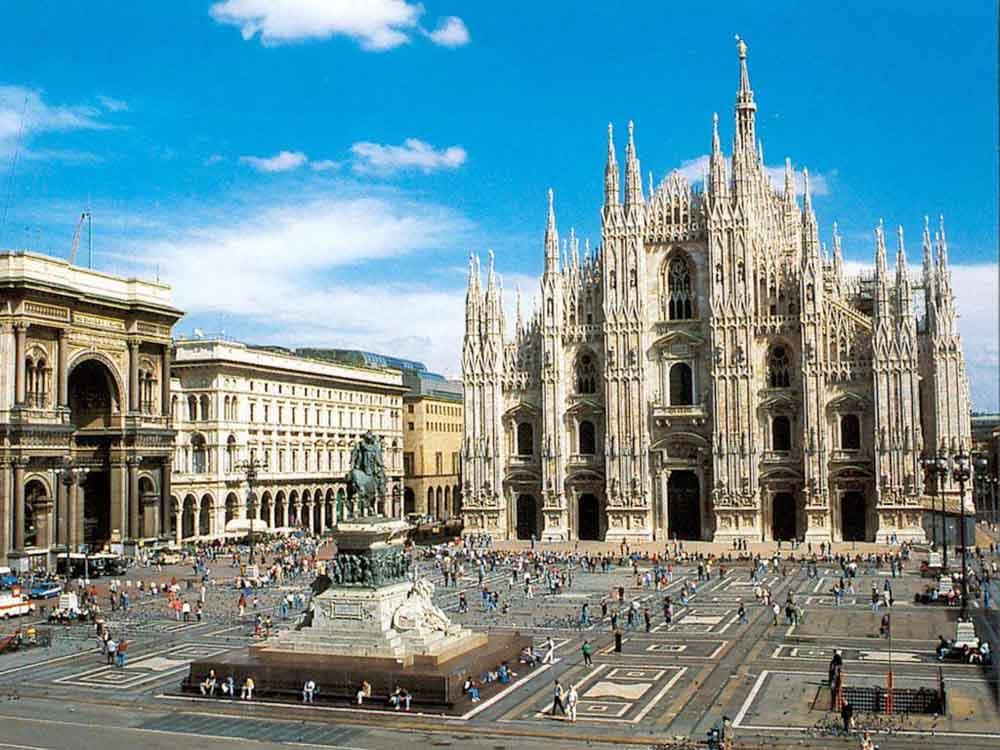 principais cidades da Itália milão italia
