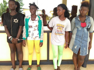 Ladies-Only Robbery Gang Busted; Police Nabs The Bad Girls