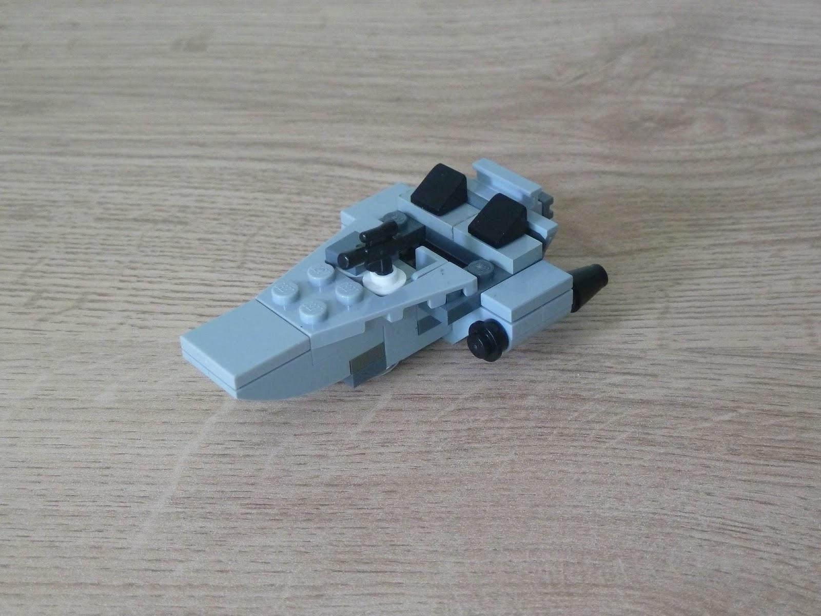 Totobricks Lego Star Wars First Order Snowspeeder Instructions
