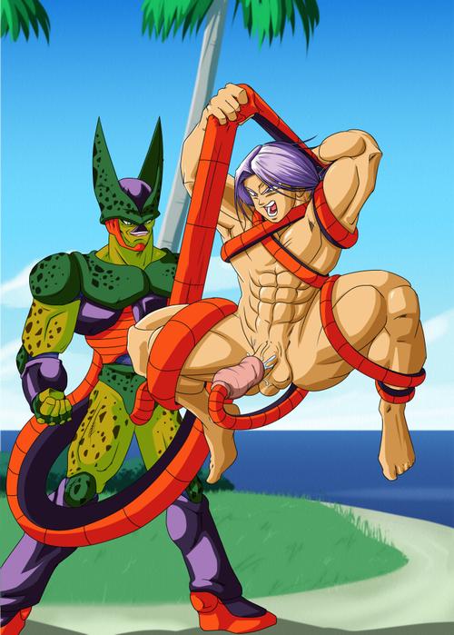 gay cell porn dbz