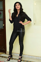 Shruti Haasan Looks Stunning trendy cool in Black relaxed Shirt and Tight Leather Pants ~ .com Exclusive Pics 035.jpg