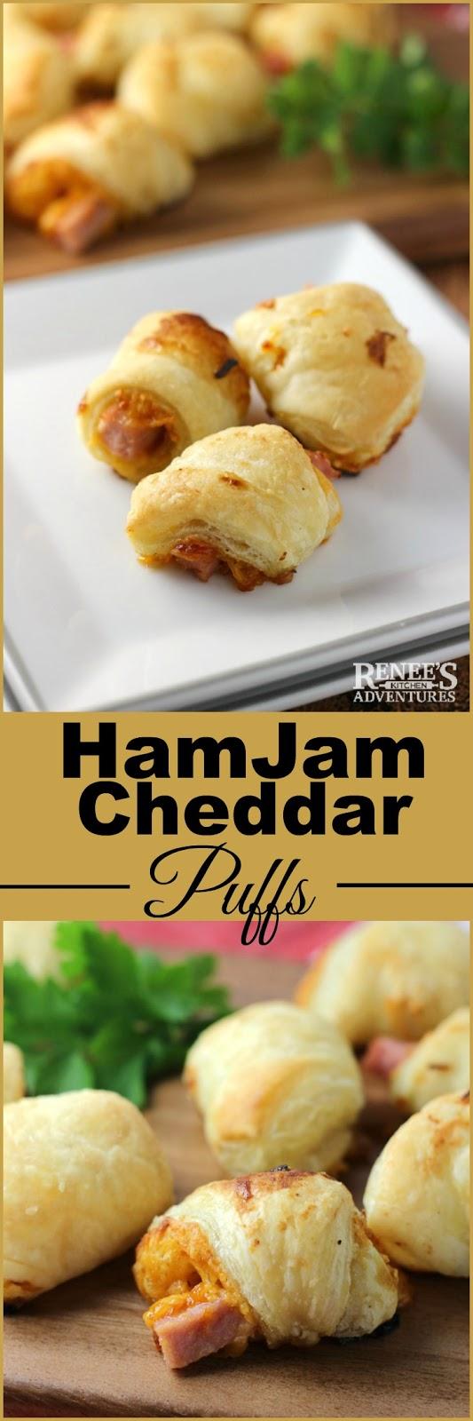 HamJam Cheddar Puffs