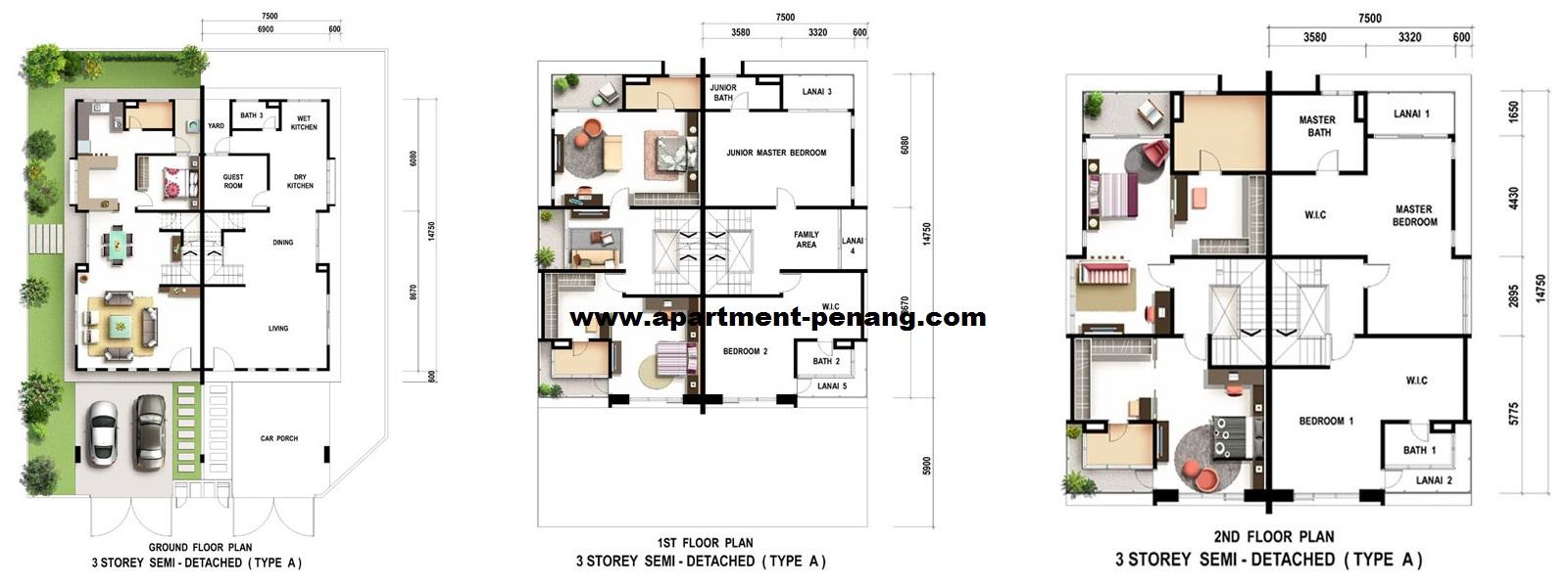 Citrus Setia Greens Apartment Penang Com