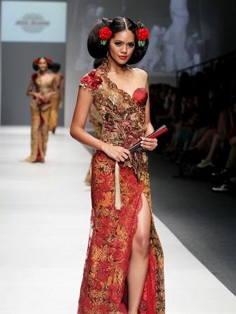 Model Baju Kebaya Jumputan Modern Terbaru