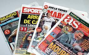 Las portadas de la prensa deportiva (31/08/2016)