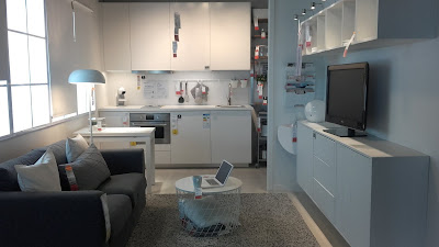 Sala com Kitchenet