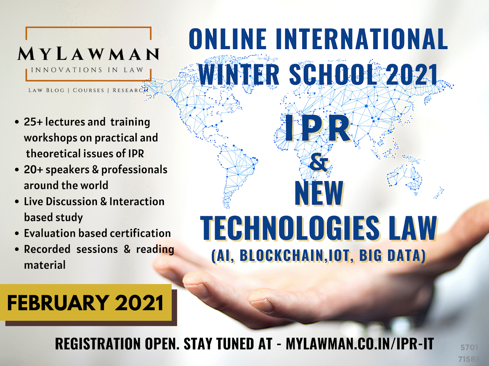 International Winter School on IPR and New Technologies Law