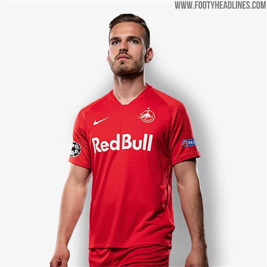 Red Bull Salzburg 19 20 Champions League Home Away Kits Released Footy Headlines