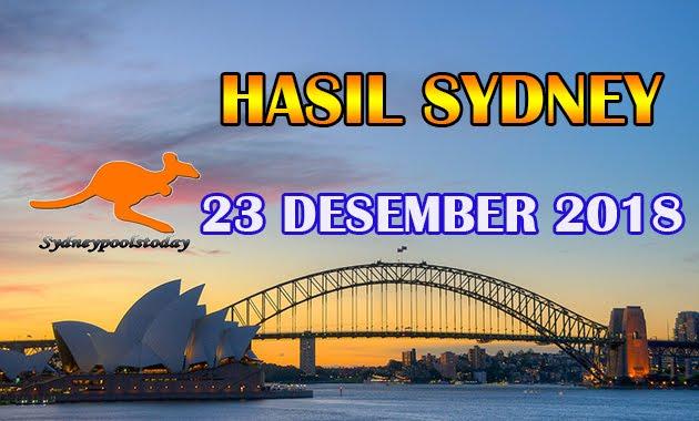Keluaran Hasil Togel Sydney 23 Desember 2018