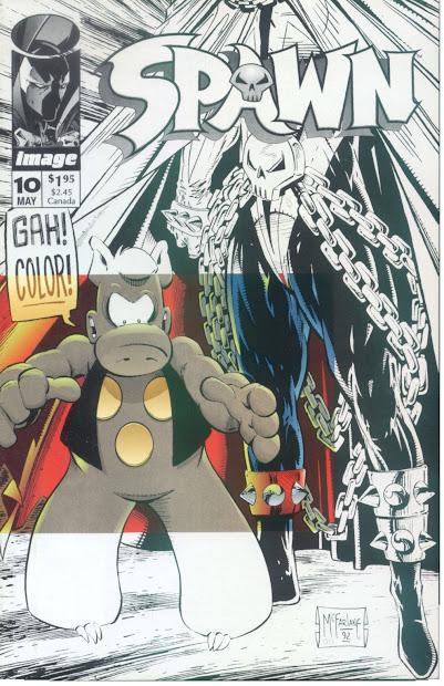 Todd McFarlane Spawn Comic Covers