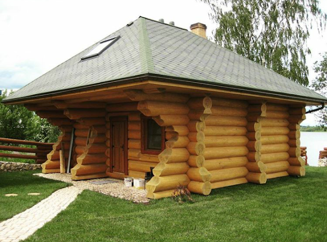 konsep rumah kayu