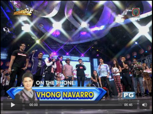 Vhong Navarro Birthday Message for Anne Curtis during Showtime
