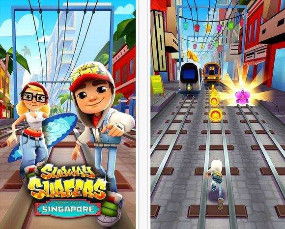Subway Surfers - Δωρεάν εθιστικό platform game