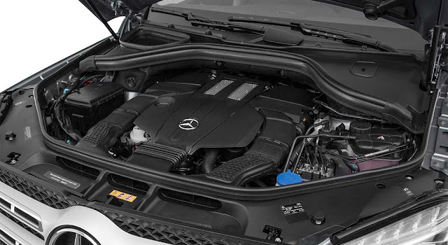 Động cơ Mercedes GLS 500 4MATIC 2019 vận hành mạnh mẽ và vượt trội