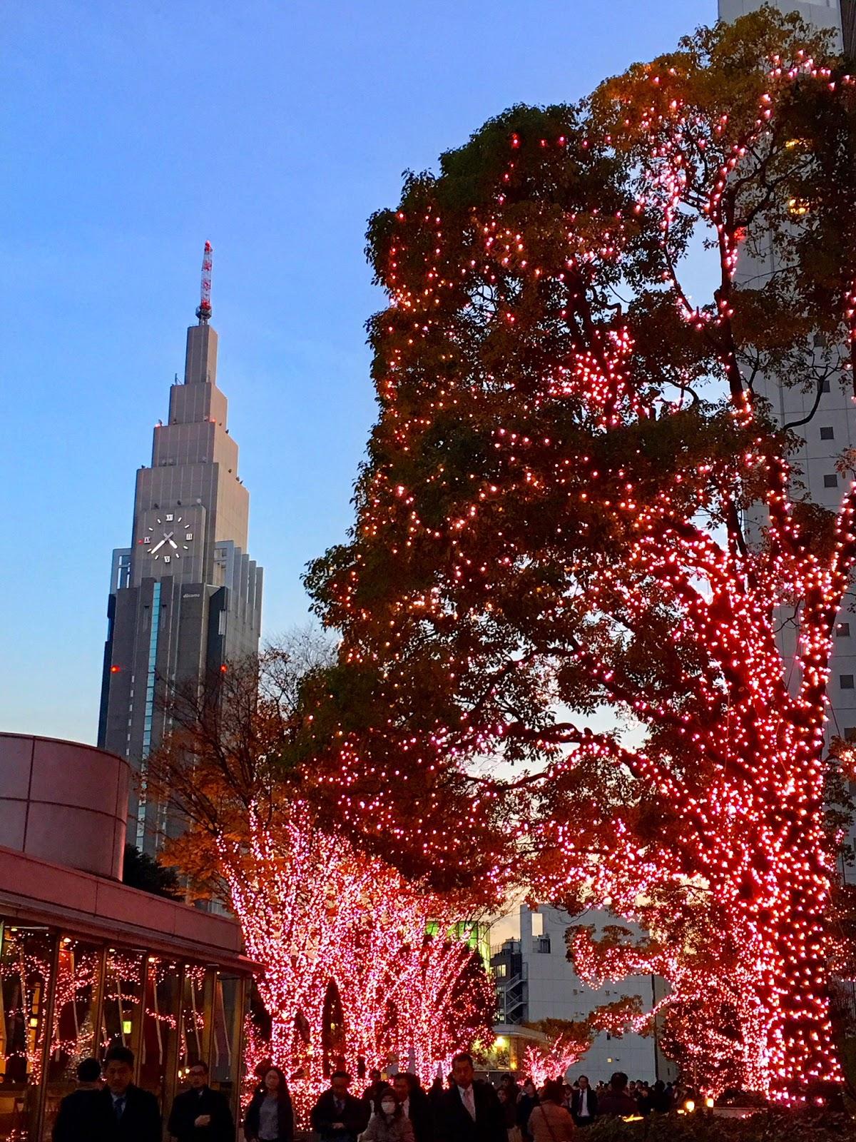 Tokyo Christmas Lights