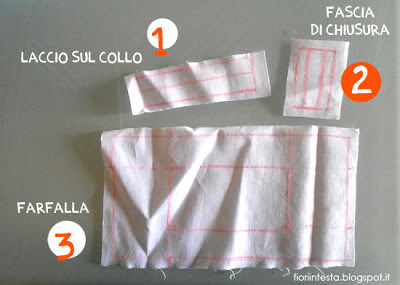 Fiori in testa diy sewing project un vero papillon for Cartamodello per papillon