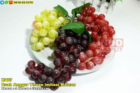 Buah Anggur Tiruan Imitasi Mainan