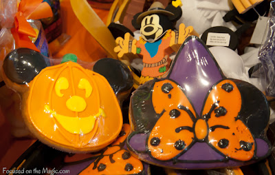 Disney Parks Halloween Cookies