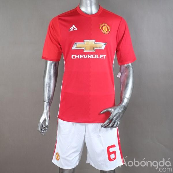Mặt trước áo đá bóng Thái Lan loại 1 siêu cấp Manchester United