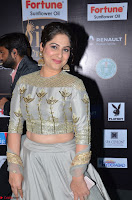 Gouri Munjal in a Tight Pista Coloured Ghagra Choli at IIFA Utsavam Awards 008.JPG