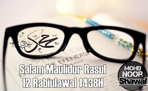 Salam Maulidur Rasul 1438H