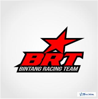 Bintang Racing Team (BRT) Logo Vector cdr