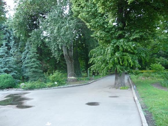Суми. Вул. Троїцька. Парк і садиба Асмолова. 19 ст.