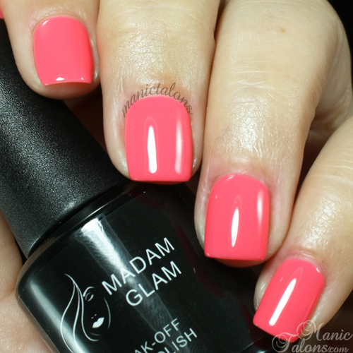 Madam Glam Gel Polish 431 So Hot