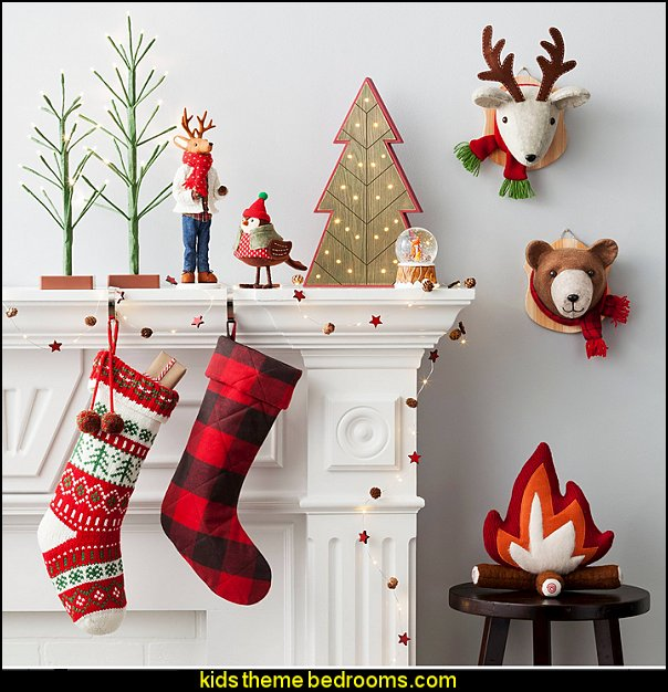 Kids Bedroom Christmas Décor