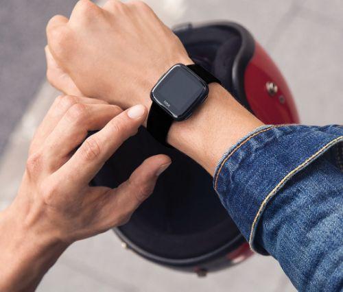 fitbit smartwatch slim horloge