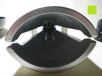 Knacker zusammengedrückt innen: Nussknacker Set Cheops Nussknacker mit 3 Schalen Kunststoff 19x8,5x7cm