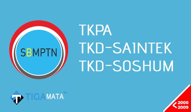 Download Naskah Soal SBMPTN Tahun 2000-2009 (TKPA, SAINTEK, SOSHUM)